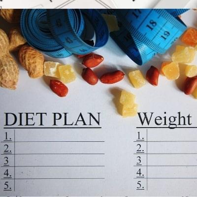 Dieet schema- alleen met calorien kom je er niet