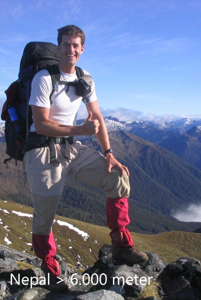 John Reynders Bergklimmen Nepal +6000m