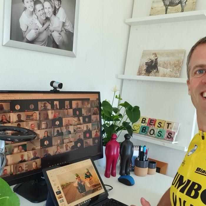 John Reynders, Fitte directeur van 25 Visma bedrijven beschrijft zijn rol als onderste friet in de puntzak!